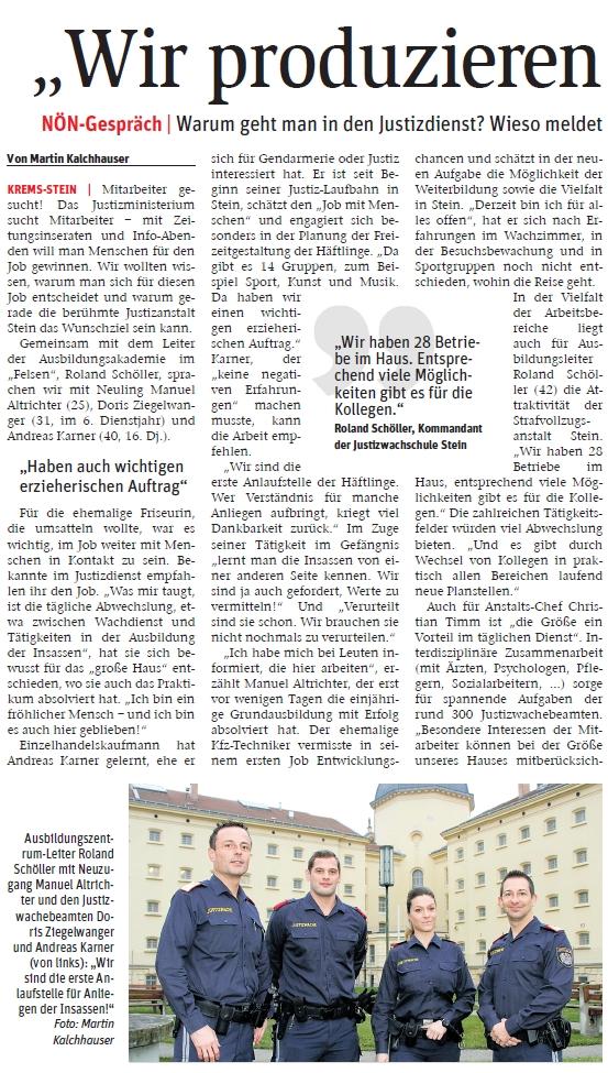 Ausbildungszentrum Stein - Roland Schöller